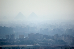 Hazy Pyramids